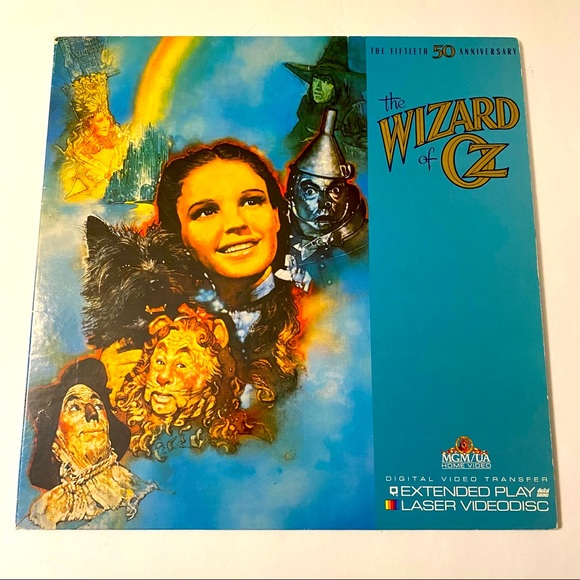 Wizard of Oz 50th Anniversary Laser Disc